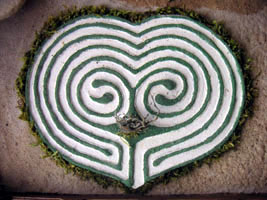Art Heart Labyrinth