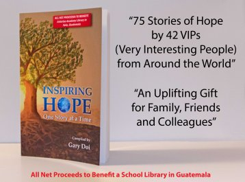 Inspiring Hope, One Story at a Time