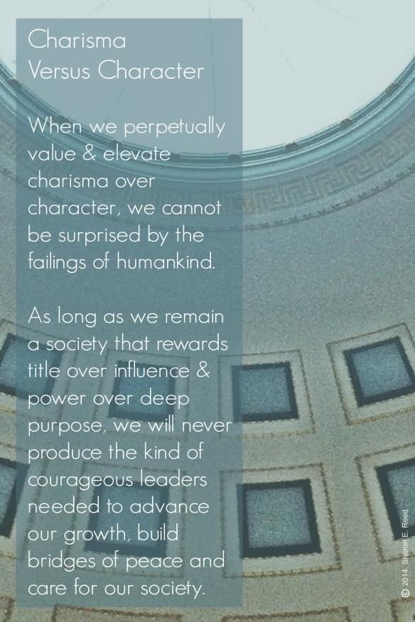 Charisma vs Character