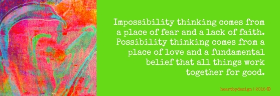 Possibility Thinking